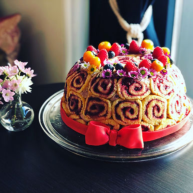 Biscuit Roll Cake