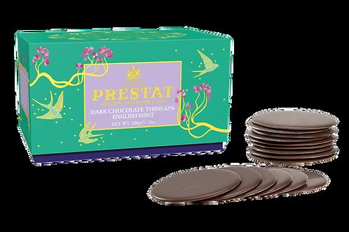 Dark Chocolate Thins English Mint