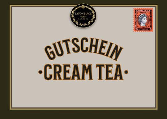 Gutschein für unseren Cream Tea