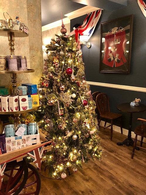 02. Dezember 2021 Lesung mit High Tea Die Weihnachtsgeschichte 18 Uhr