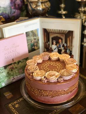 Portwein Mandel Sponge Cake