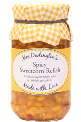 Mrs Darlingtons Spicy Sweetcorn Relish 300g