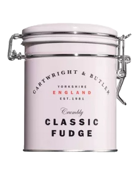 Butter Fudge, rose tin