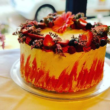 Mascarpone Püree Sponge Cake