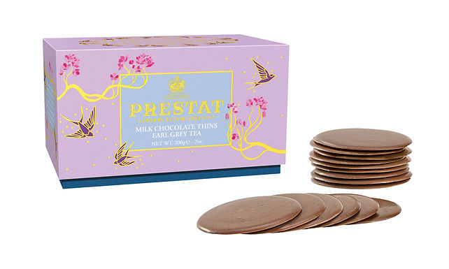 Milk Chocolate Thins Prestat