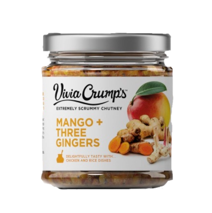 Vivia Crump's Mango Chutney with Three Gingers
