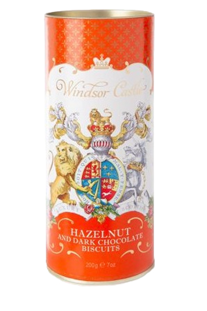 Windsor Castle Hazelnut and Chocolate Chip Biscuits
