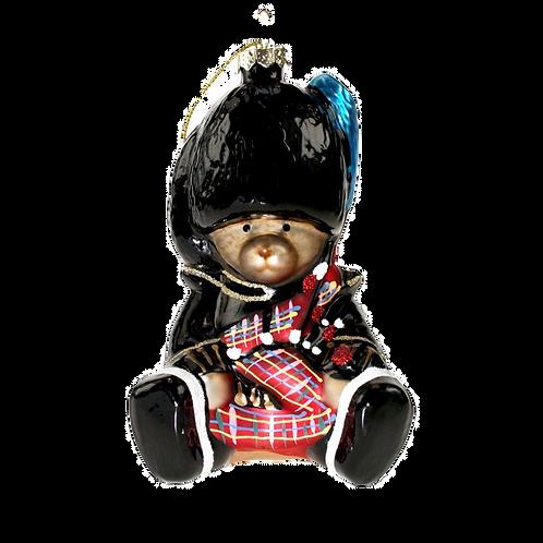 Scottish Piper Weihnachtsbaum GlasKugel
