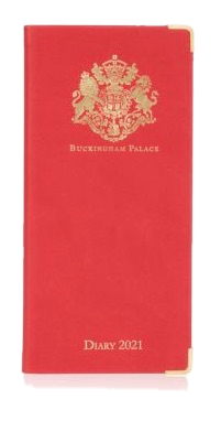 Buckingham Palace Pocket Kalender 2021