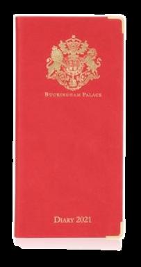 Buckingham Palace Pocket Kalender 2021