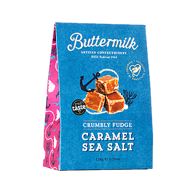 Crumbly Chocolate Sea Salt Fudge