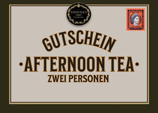 Gutschein für 2 Personen zum Afternoon Tea