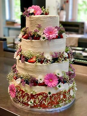 Hochzeitstorte Version 1in unterschiedlichen Größen