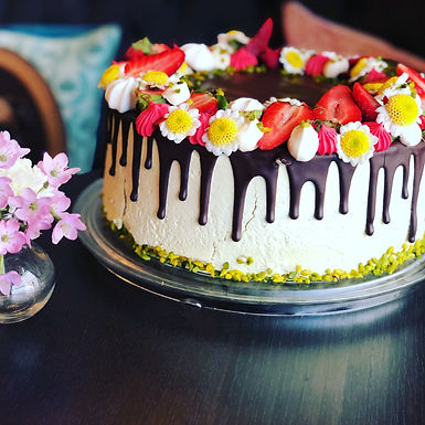 Drizzle Ganache Cake
