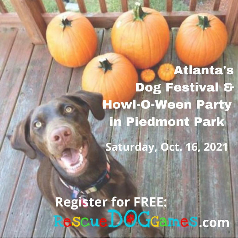 Rescue Dog Games HOWL-O-Ween Party