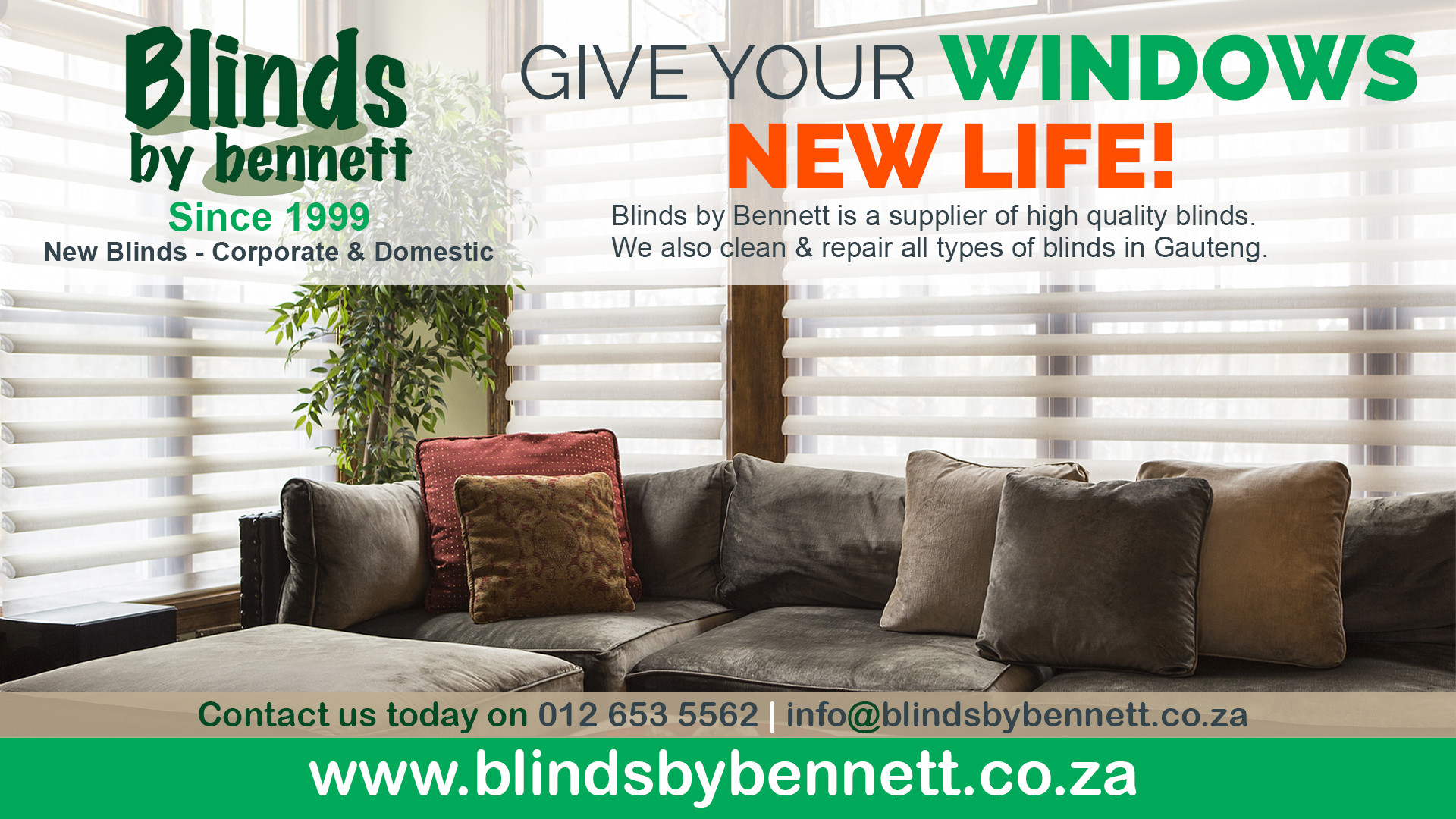 BLINDS BY BENNETT