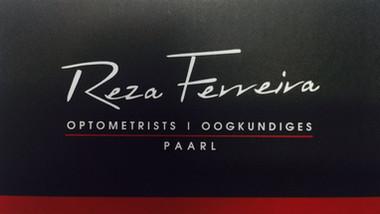 Reza Ferreira Optometrists Paarl