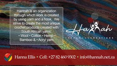 HANNAH YARN & HOOK CREATIONS