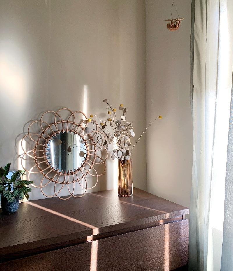 Interieur inspiratie beige muur