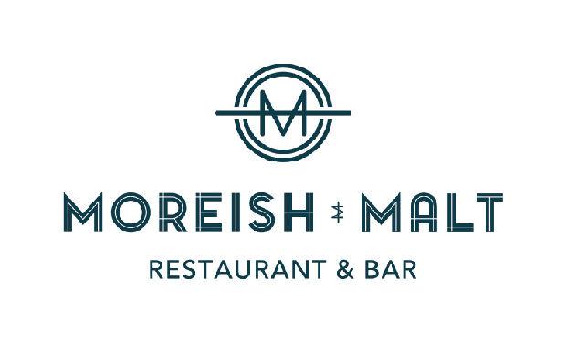 Moreish & Malt Logo Ozone