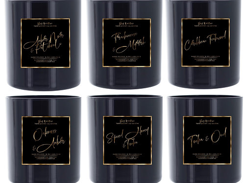 Black Label 6 Candle Collection