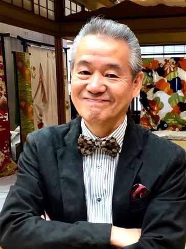 UTAI bow tie wearer in Kyoto