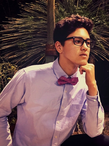 UTAI bow tie weare in Kyoto