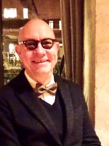 UTAI bow tie wearer in Copenhagen