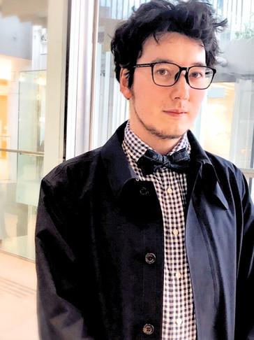 UTAI bow tie wearer in Utrecht