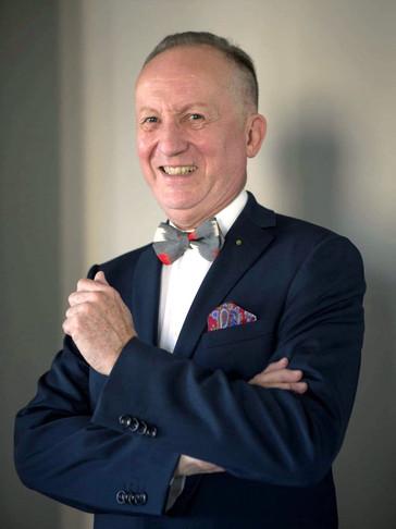 UTAI bow tie wearer in Tokyo