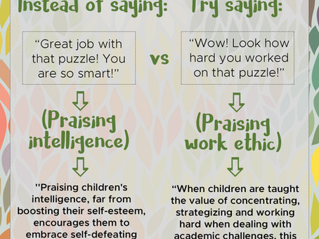 How Certain Praise can Affect Your Child's Drive to Succeed