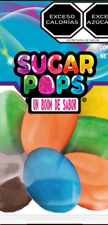 Sugar Pops Cacahuates Confitados