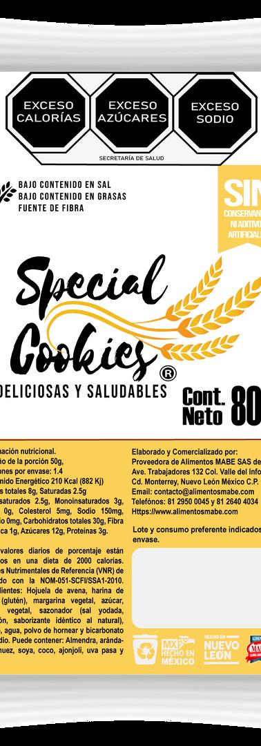 SPECIAL COOKIES_GALLETA CON ARANDANOS 80
