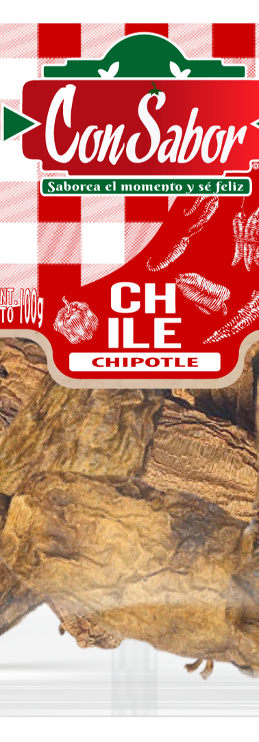 Chile Chipotle 100 Grs