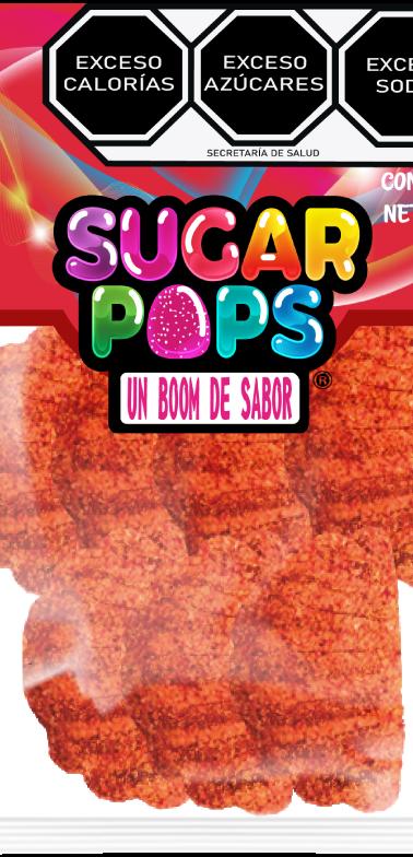 Sugar Pops Gajo Naranja Enchilado