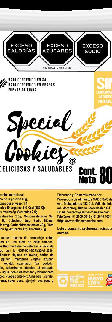 SPECIAL COOKIES_GALLETA CHISPAS CHOCOLAT