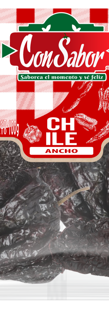 Chile Ancho 100 Grs