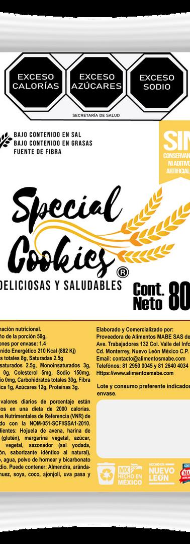 SPECIAL COOKIES_GALLETA ARANDANO CON QUE