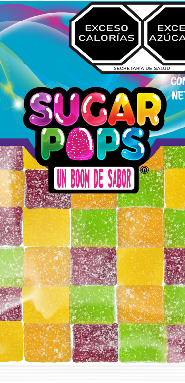 Sugar Pops Cuadrito