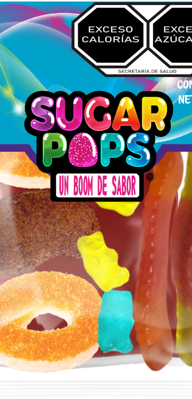 Sugar Pops Surtida con Chamoy