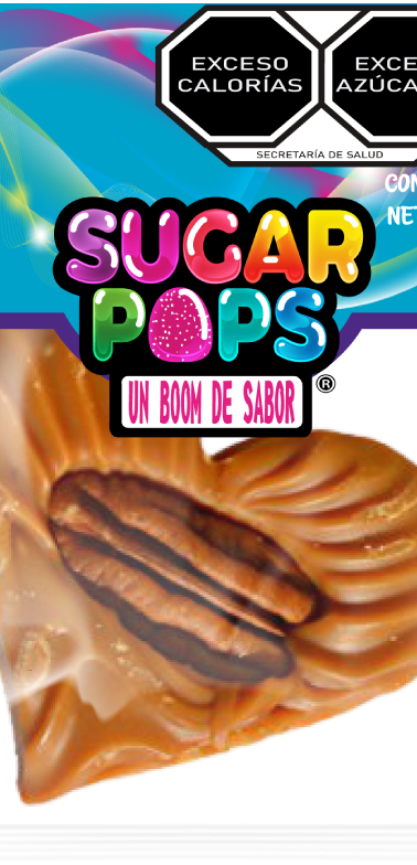 Sugar Pops Jamoncillo Corazón