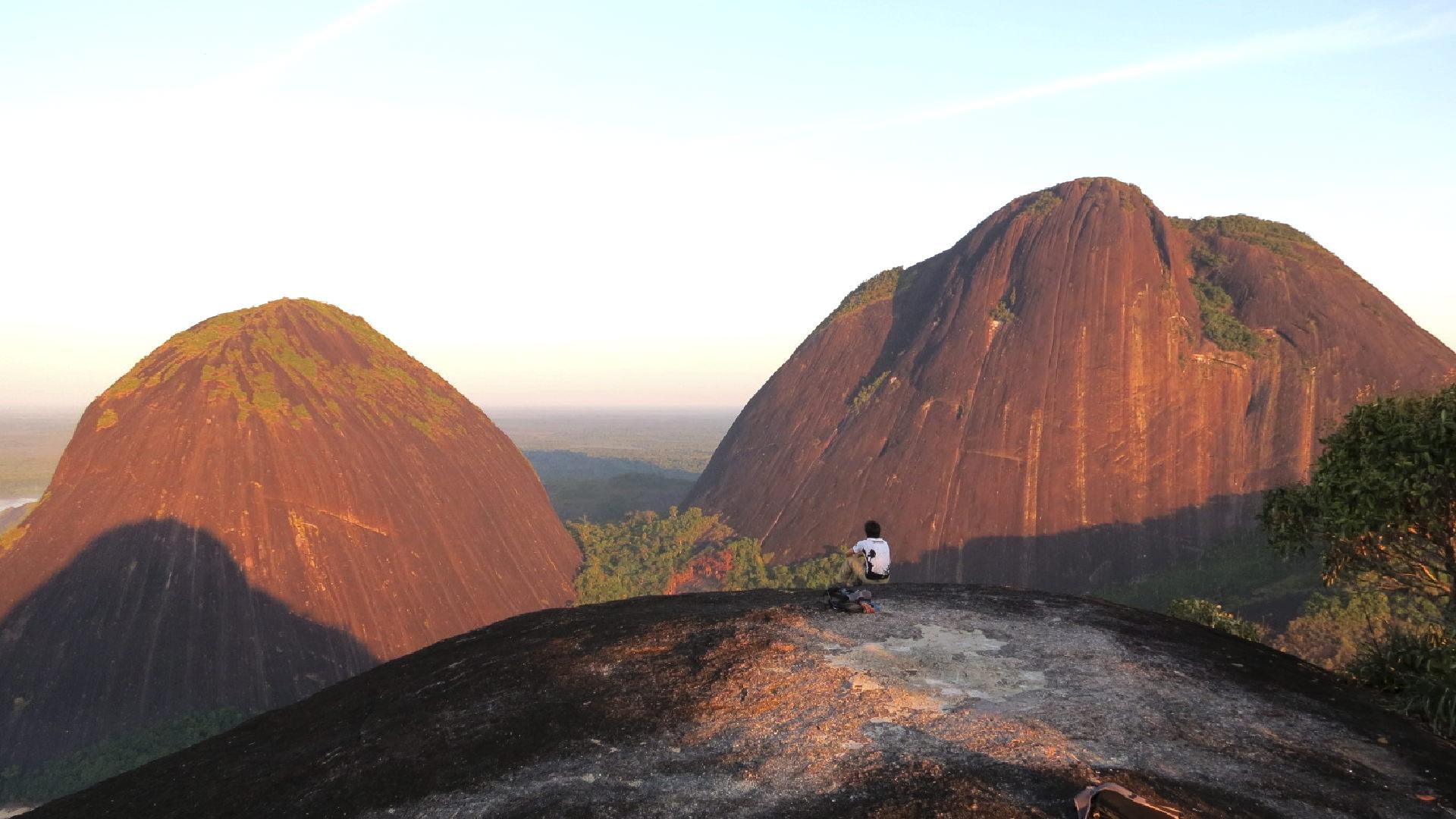 Formaciones rocosas, escudo Guyanes