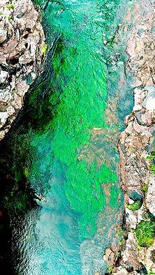 Sector Pailoes en Caño Cristales