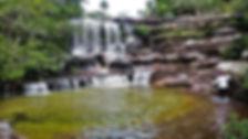 Cascada Piedra Negra en Caño Cristales