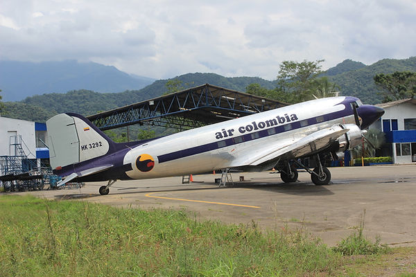 Douglas DC-3 en Villavicencio