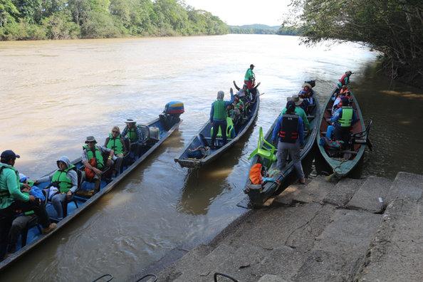 Transporte Río Guayabero