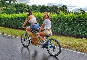 Plan bicicletas en el Glamping cerca a Villavicencio