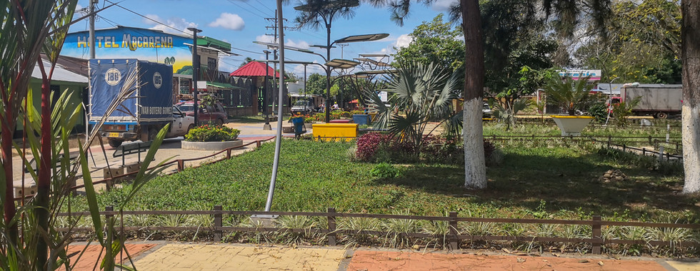 Parque Principal de La Macarena (Meta, Colombia) 2018