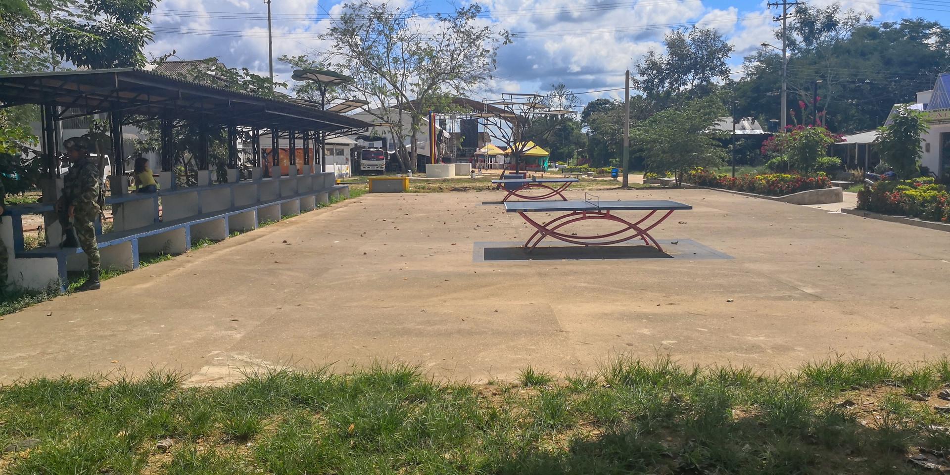 Parque Principal de La Macarena (Meta, Colombia) 2019