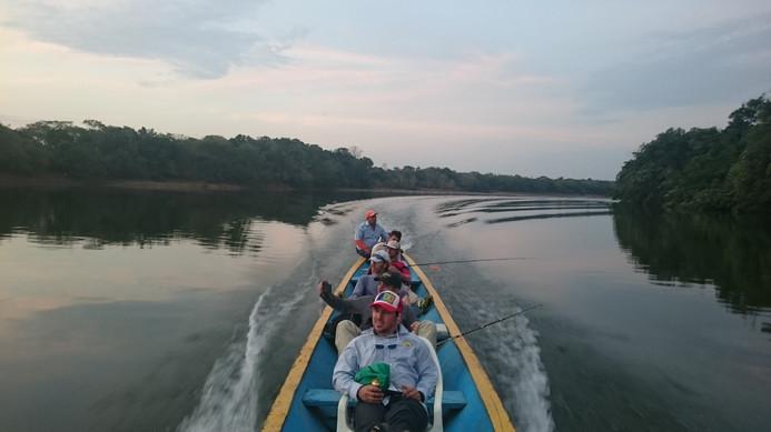 Fishing in the Guayabero River